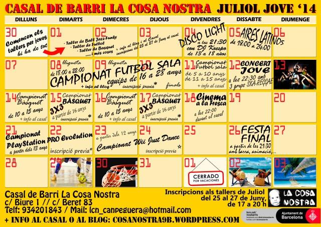 cartel Julio 2014