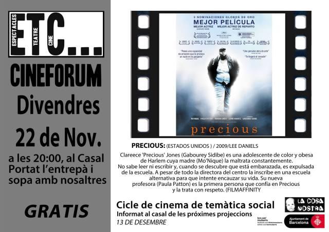 ETC Cinema Precious